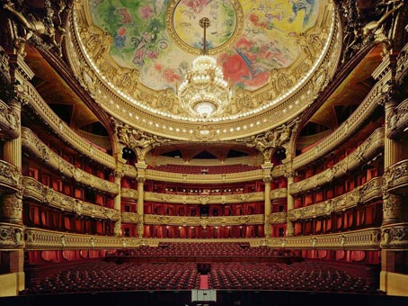 Opera Garnier - salle de spectacle - Photo Claude Marti